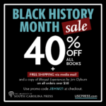 USC Press Black History Month Sale Advertisement