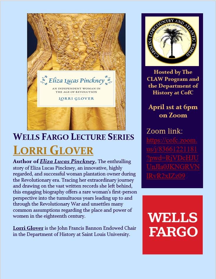 New Lori Glover Talk poster